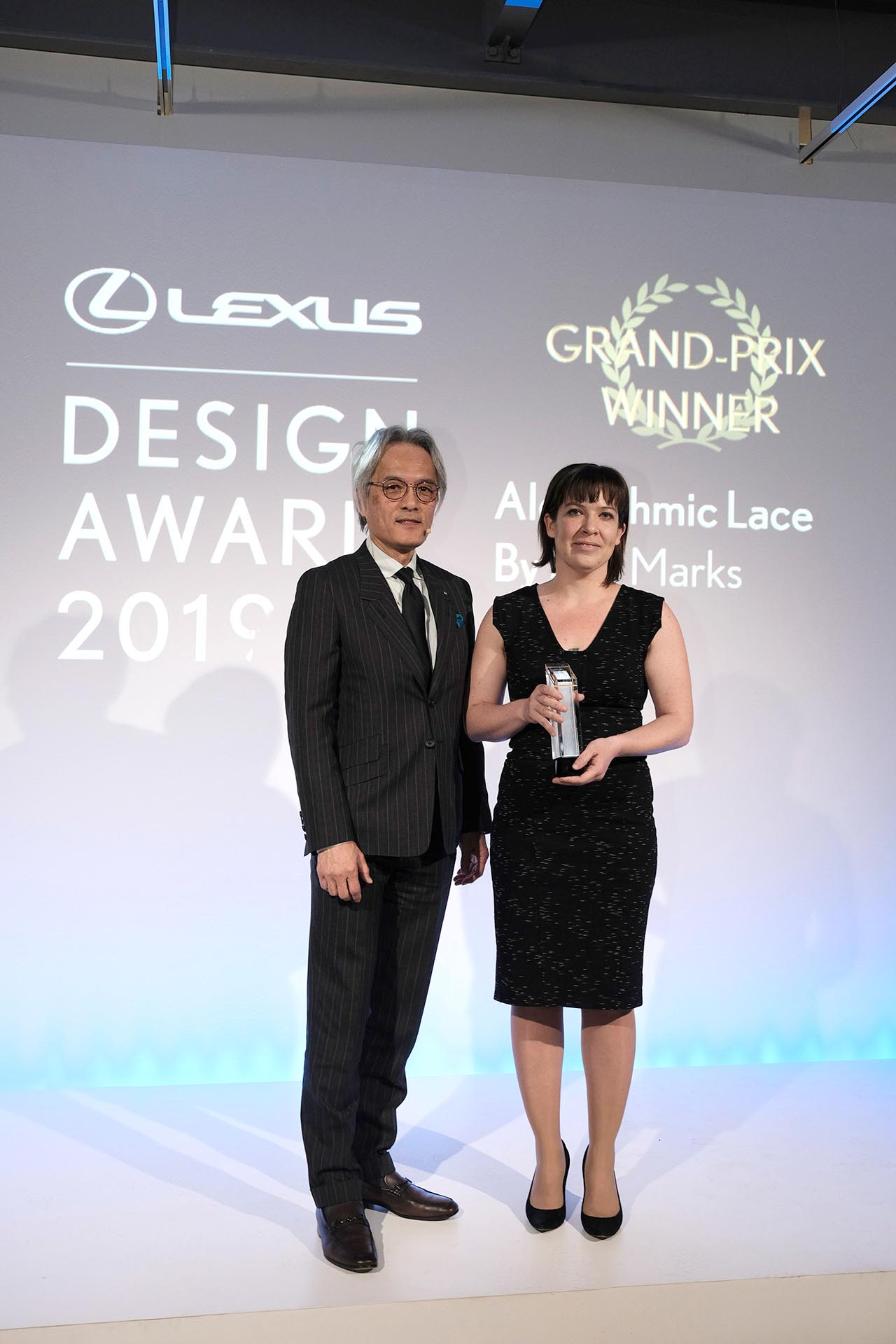 Lisa Marks Vencedora do Lexus Design Award 2019 e Yoshihiro Sawa